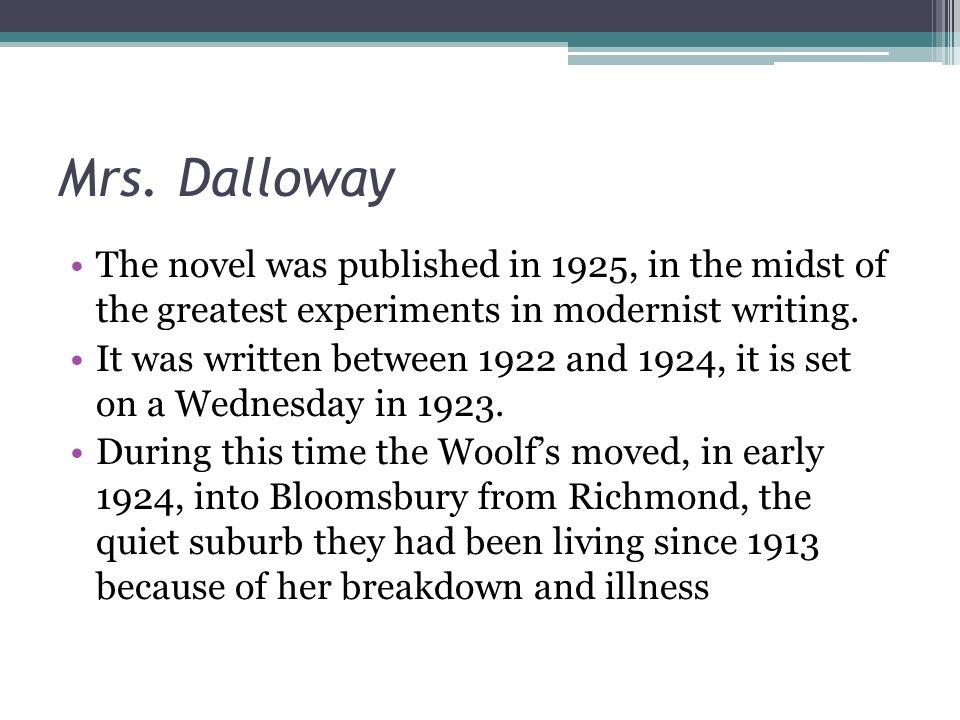 mrs dalloway notes