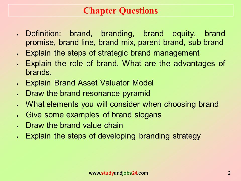 Topic 06 Creating Brand Equity Sultan Ahmed Associate Professor ...