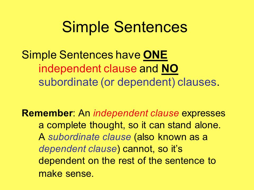 There will be a Sentence Structure Quiz this Friday, November 22nd