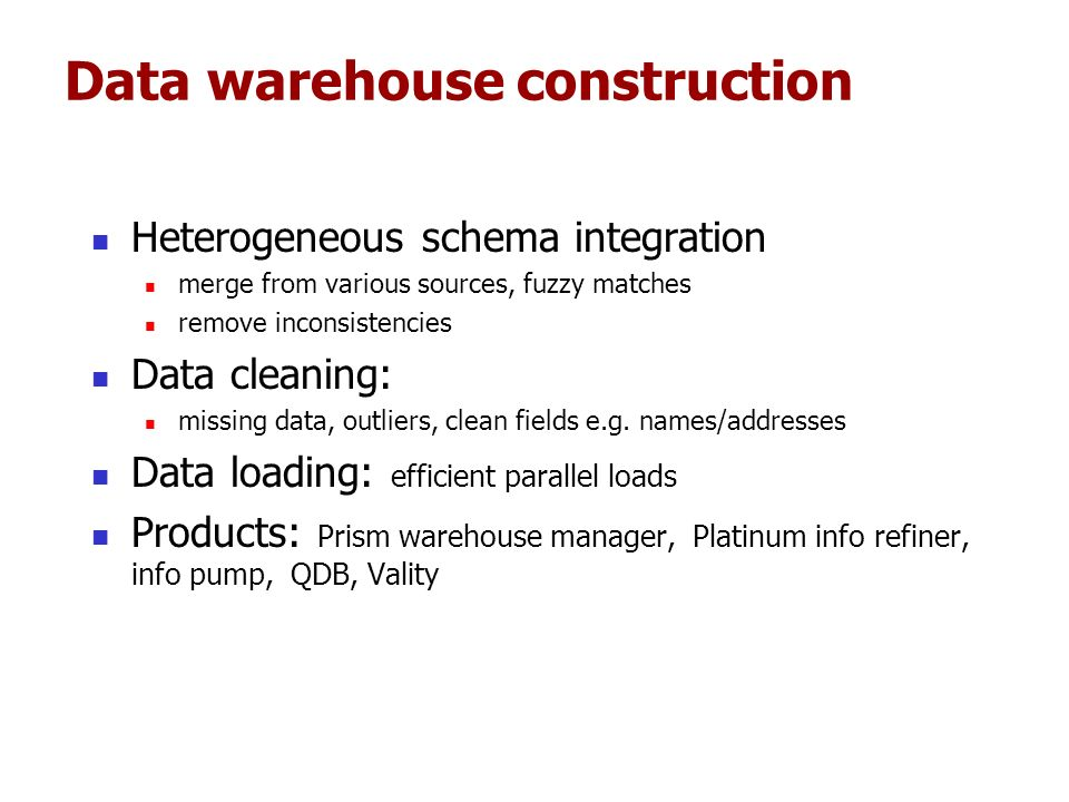 Data warehousing, data analysis and OLAP Sunita Sarawagi - ppt download