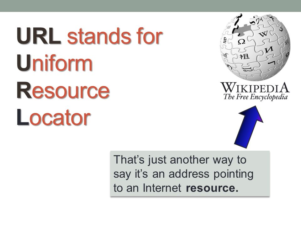 Anatomy of a URL What is a URL anyway?. - ppt video online download