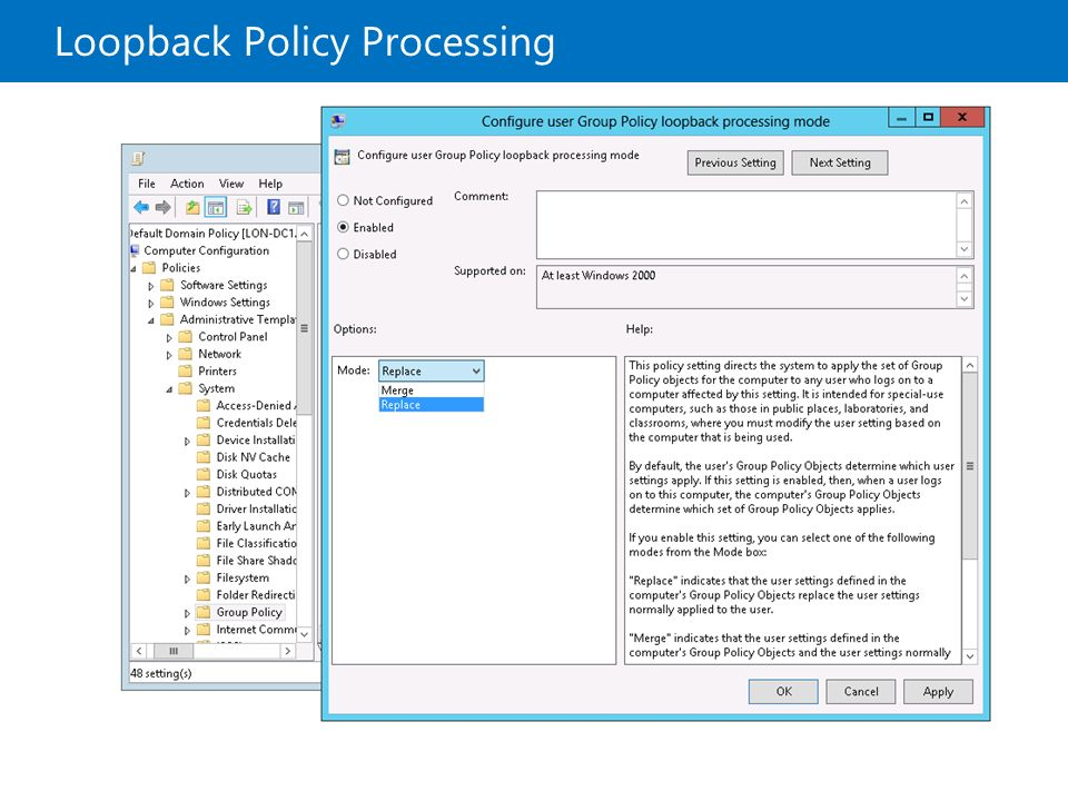 Implementing a Group Policy Infrastructure - ppt download