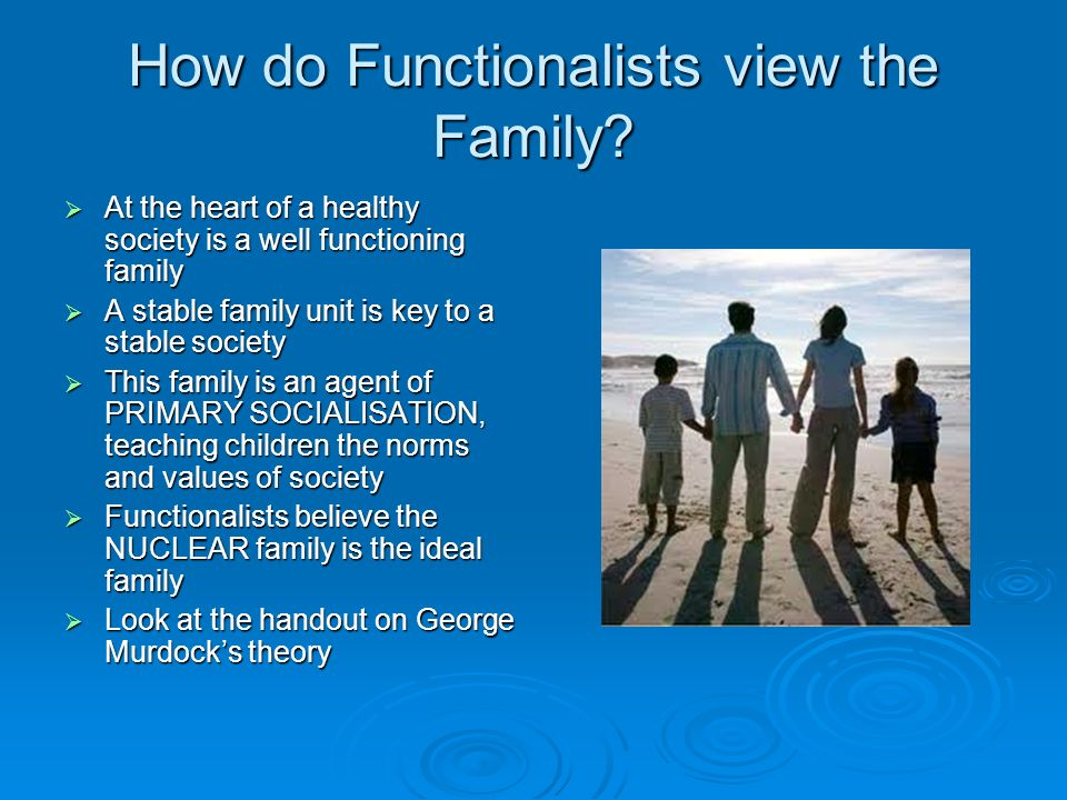 functionalism nuclear family