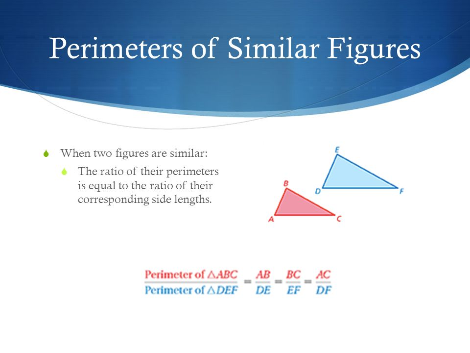 26 Perimeters And Areas Of Similar Figures Ppt Video Online Download