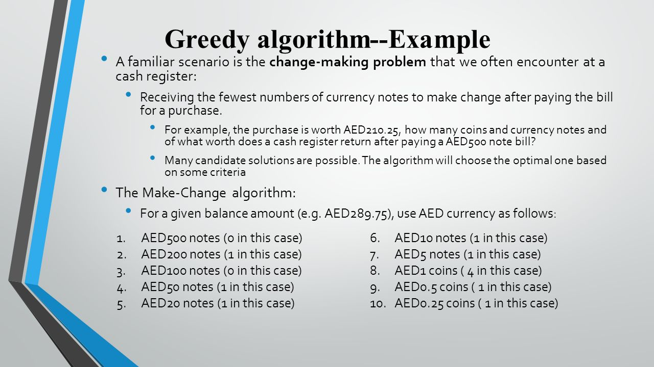 CSC5101 Advanced Algorithms Analysis - ppt video online download