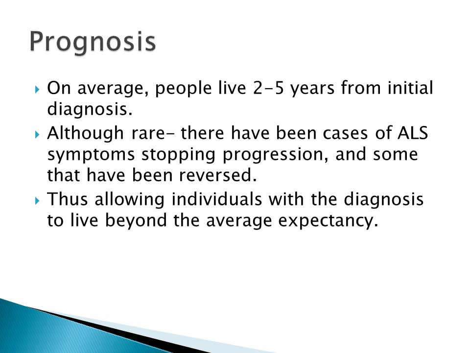Management of Respiratory Failure in ALS - ppt video online