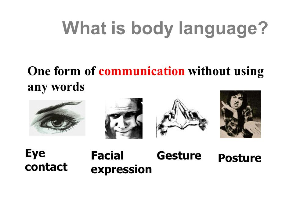 Posture gestures facial expressions ppt #1