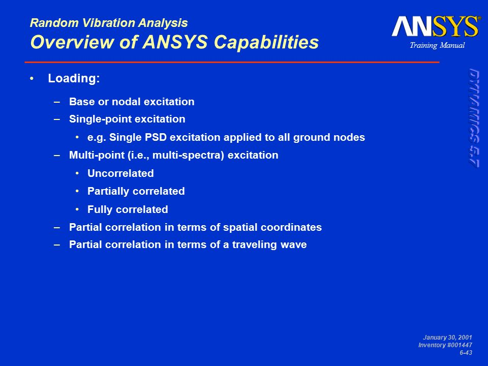 Module 6 Spectrum Analysis  - ppt download