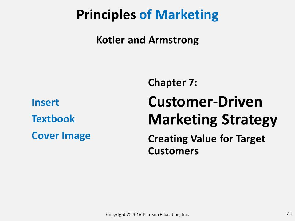 Principles Of Marketing Ppt Download