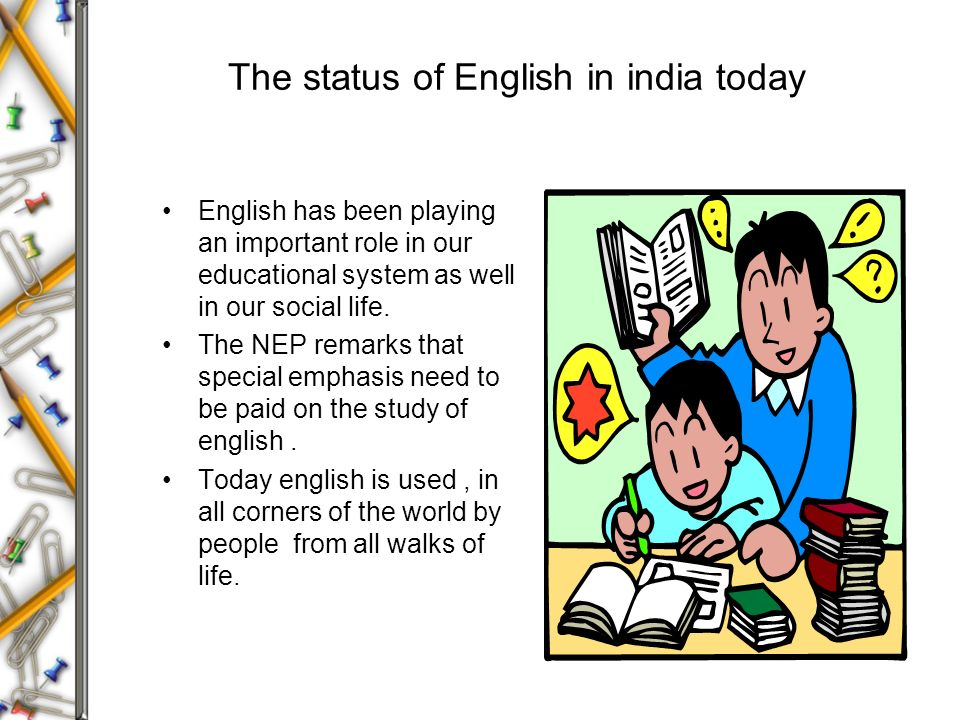 the role of english in the world today