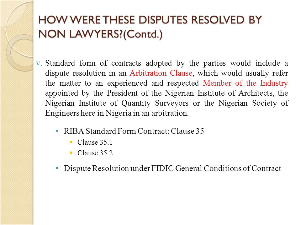 The Chartered Institute Of Arbitrators Nigeria Ppt Video Online