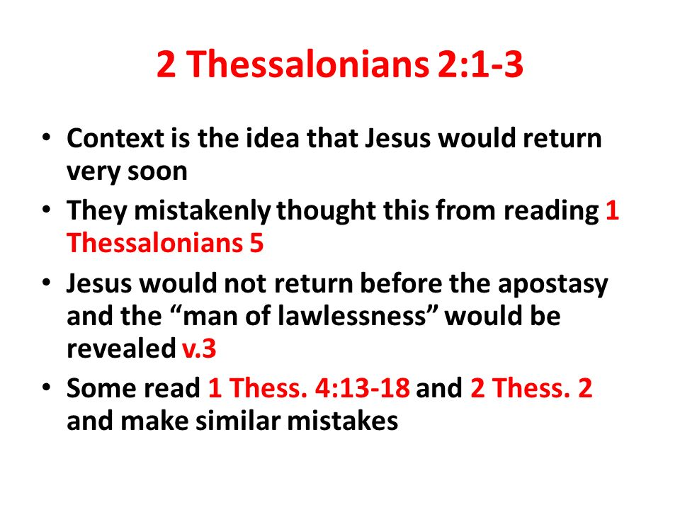 2 Thessalonians 2 Niv The Man Of Lawlessness | Autos Post