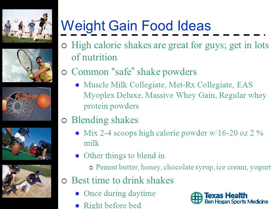 Weight Gainweight Loss In Athletes The Right Way Ppt Video
