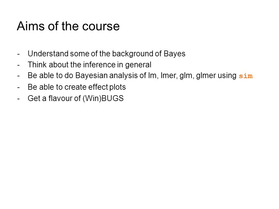 Introduction to Bayesian Statistics - ppt download