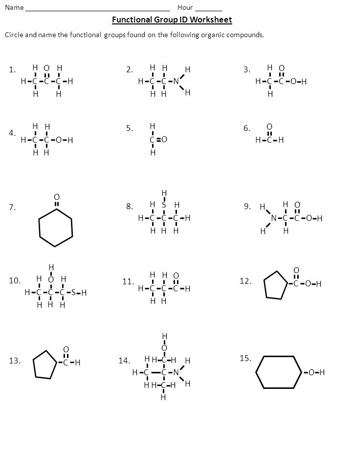 Functional Group Id Worksheet Ppt Video Online Download. Functional Group Id Worksheet. Worksheet. Worksheet Naming Organic Pounds At Clickcart.co
