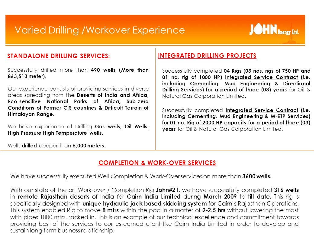 John Energy Overview CONFIDENTIAL ppt download