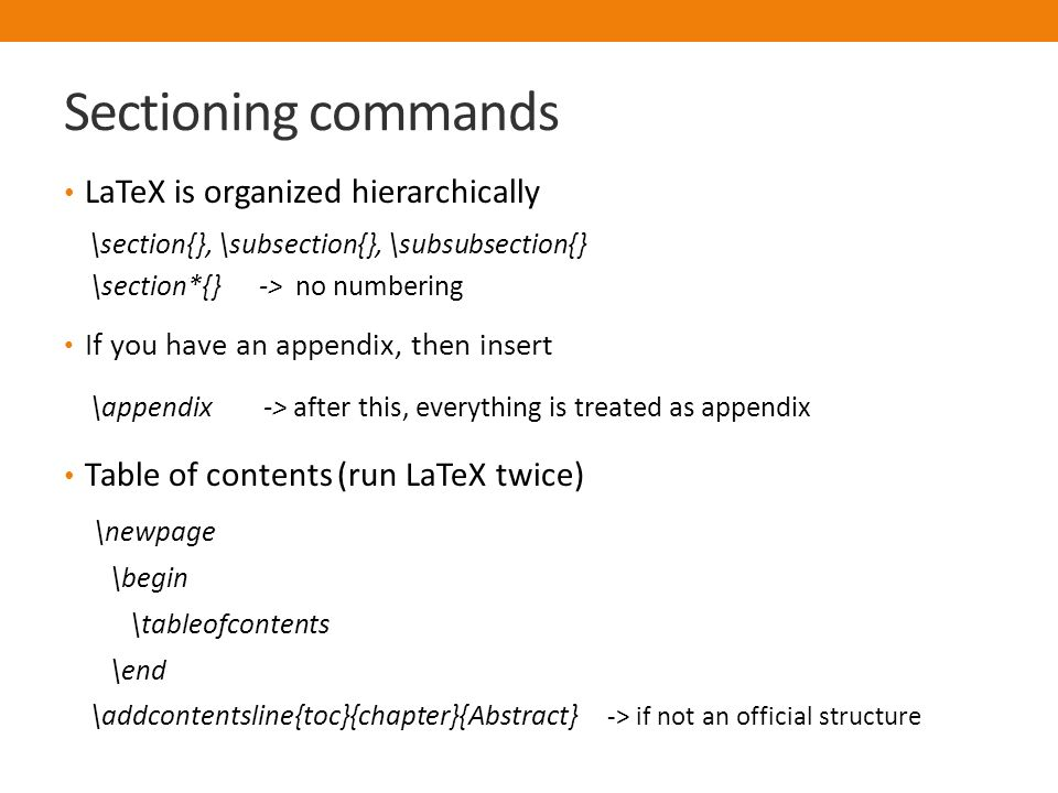 Introduction to LaTeX and Bibtex - ppt video online download