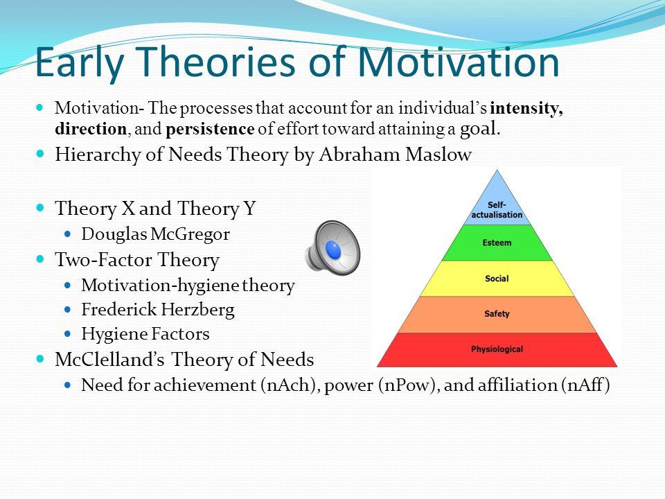 x theory of motivation