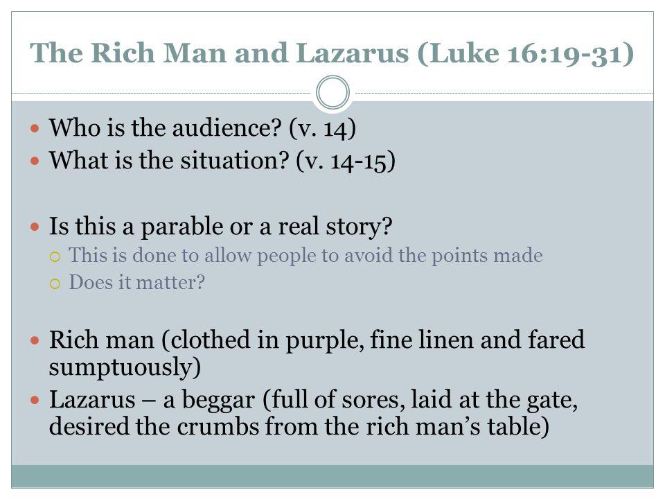 Life of Christ Lesson 6 Luke 16:19-17:10 John ppt video