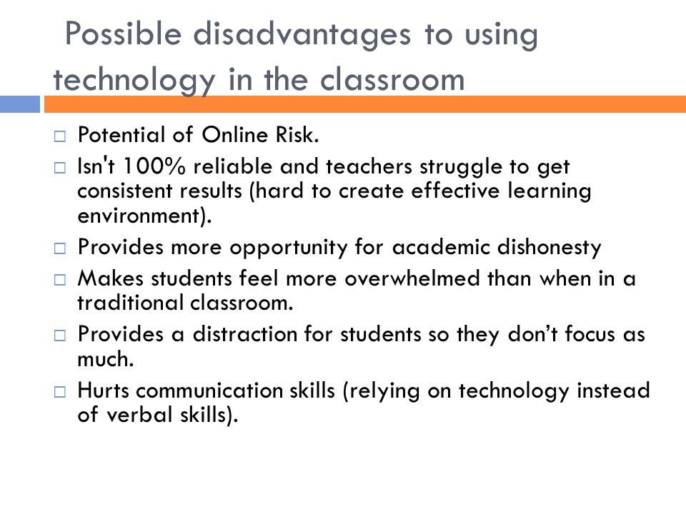 Pros and Cons of Educational Technology - ppt video online download