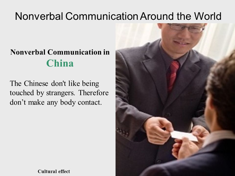 nonverbal communication in foreign culture vs 1 hamdard institute of management sciences nonverbal communication in different cultures nonverbal communication carries more meanings actions that are not seen as offensive in your home country may be deemed so in foreign business ventures when we have words to express our.