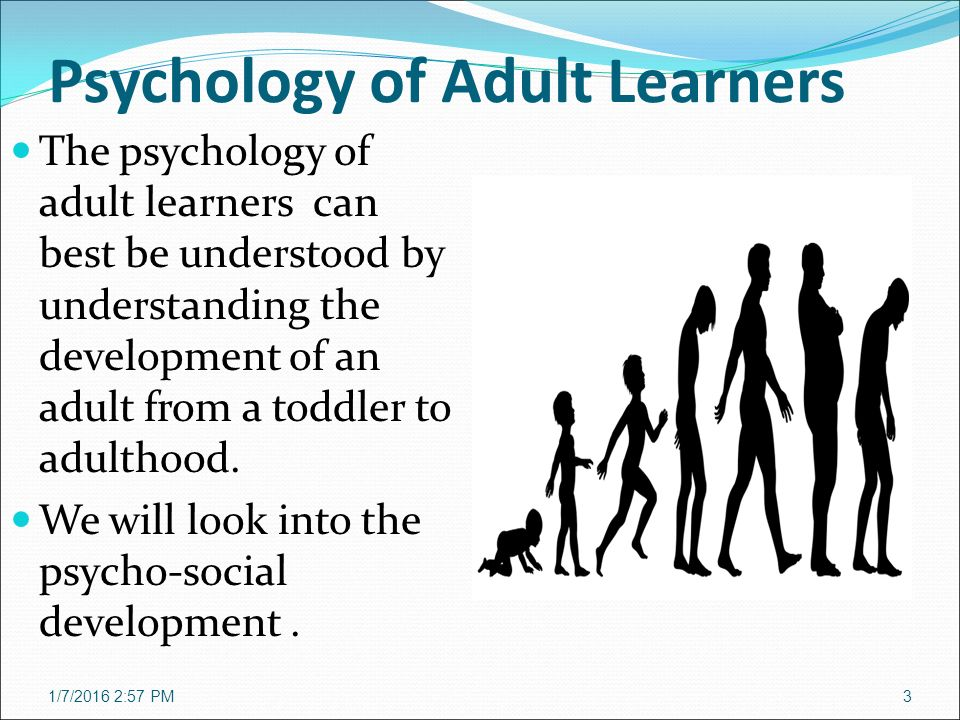 Psychology and adult learning — img 9