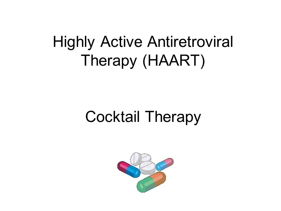 Antiretroviral drugs.