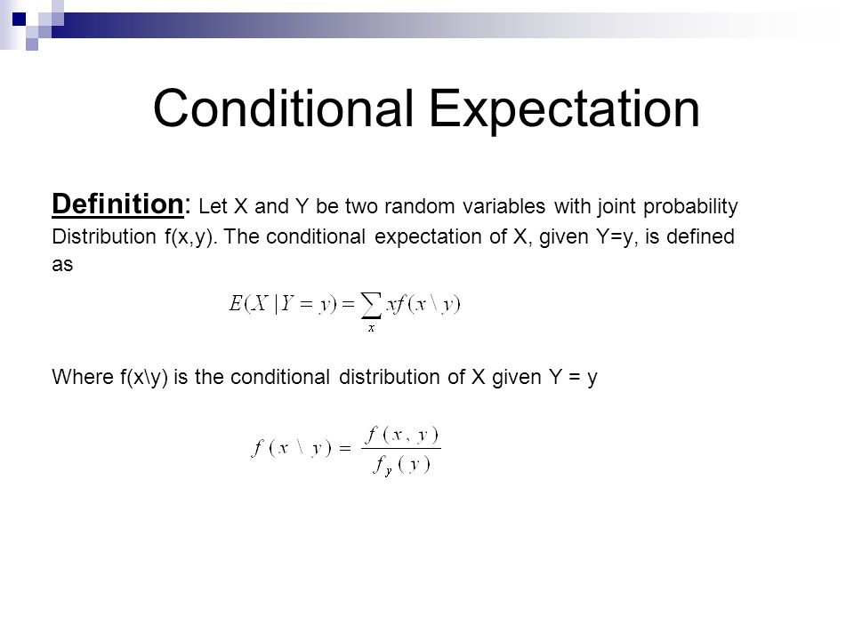 Chapter Eight Expectation of Discrete Random Variable - ppt
