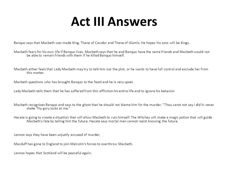 Study Guide With Answers Ppt Download