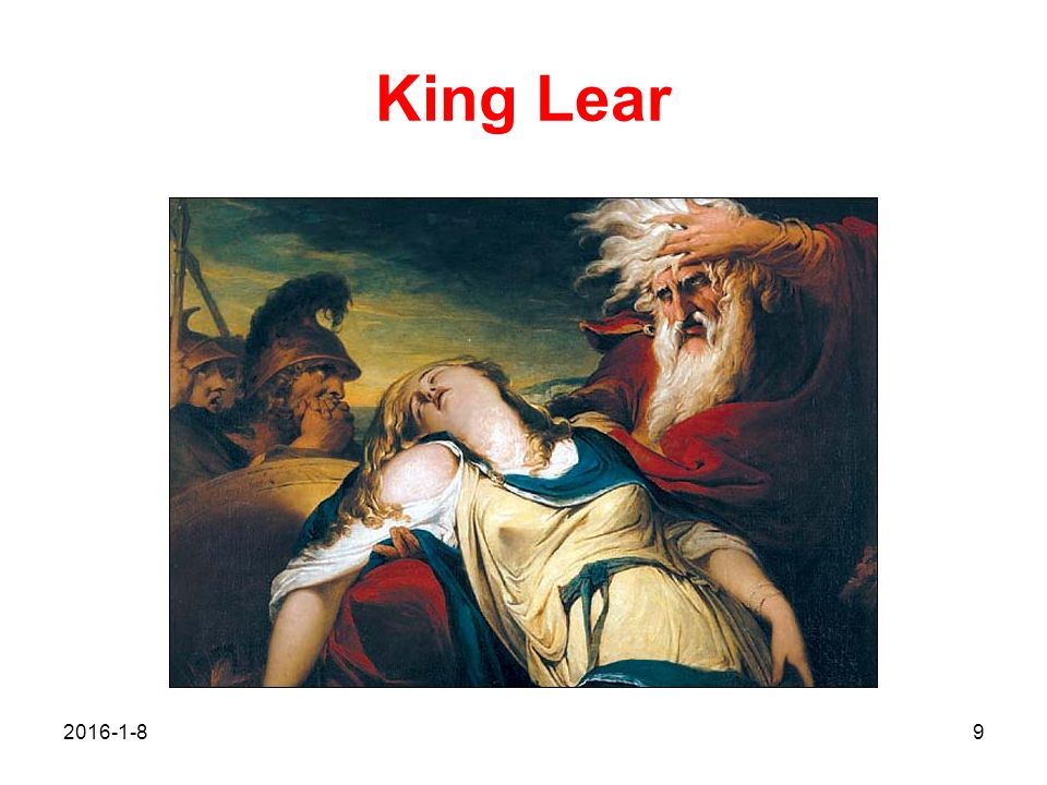 king lear conflict