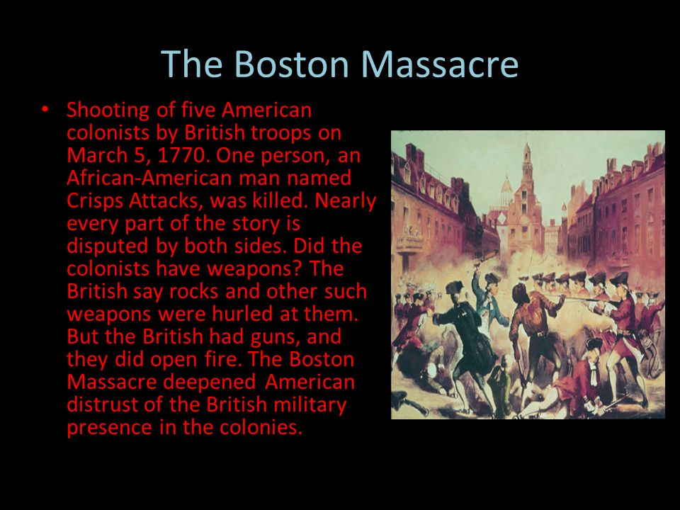 what was the impact of the boston massacre