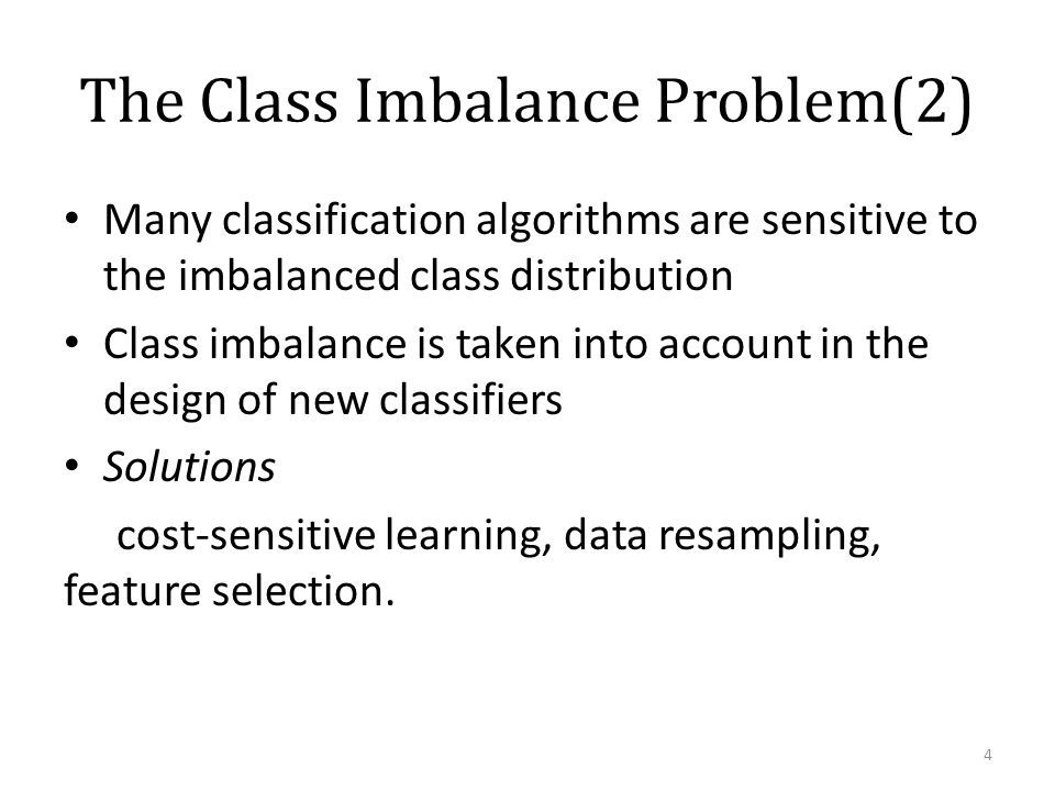 Class Imbalance in Text Classification - ppt video online
