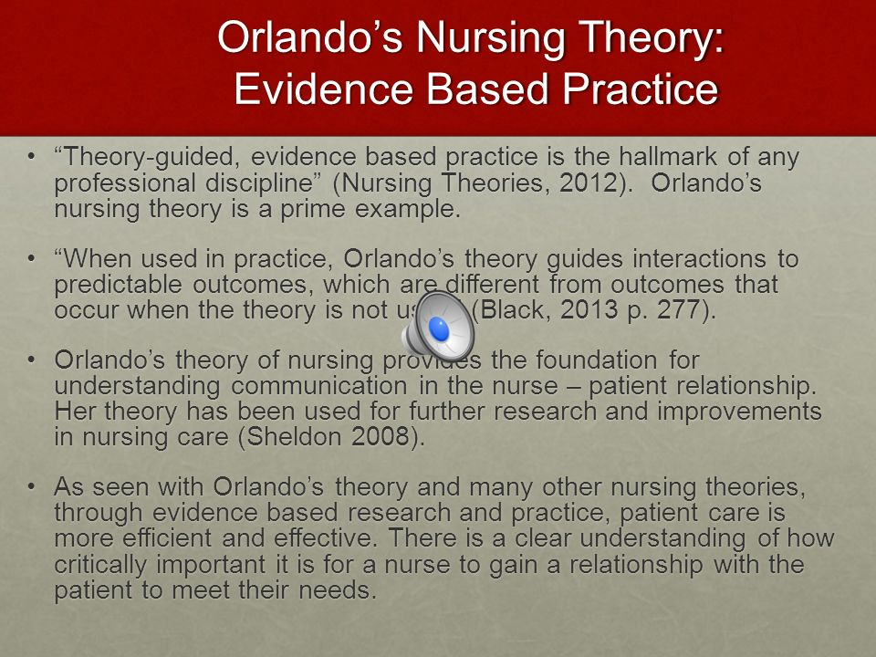 The practicality of nursing theory in the future 2018.