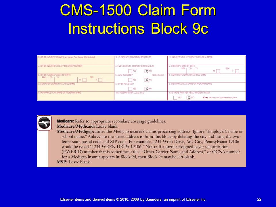 The Paper Claim Cms 1500 08 05 Ppt Download