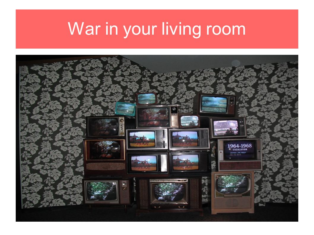the living room war the war ppt 12899
