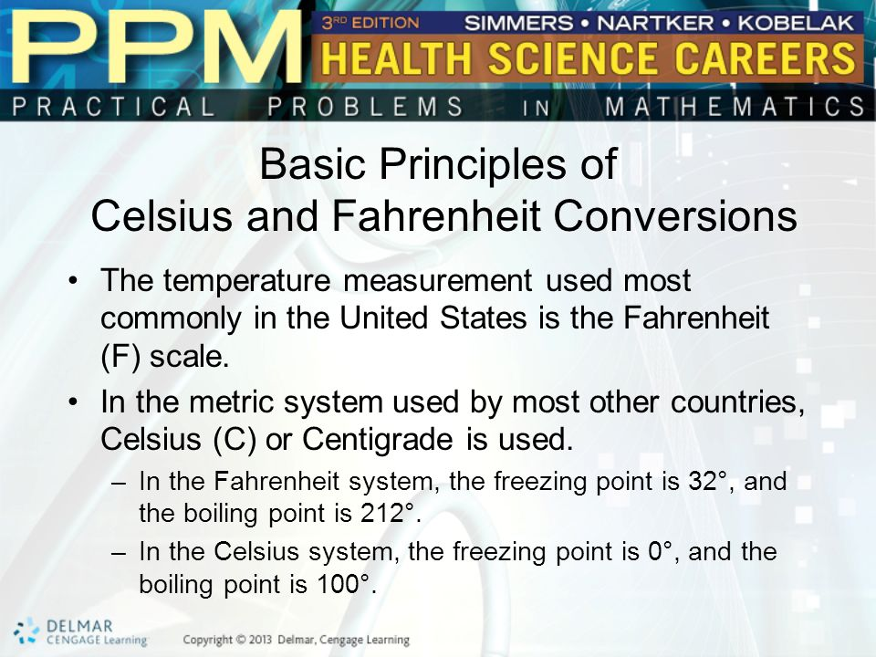 Celsius And Fahrenheit Ppt Download