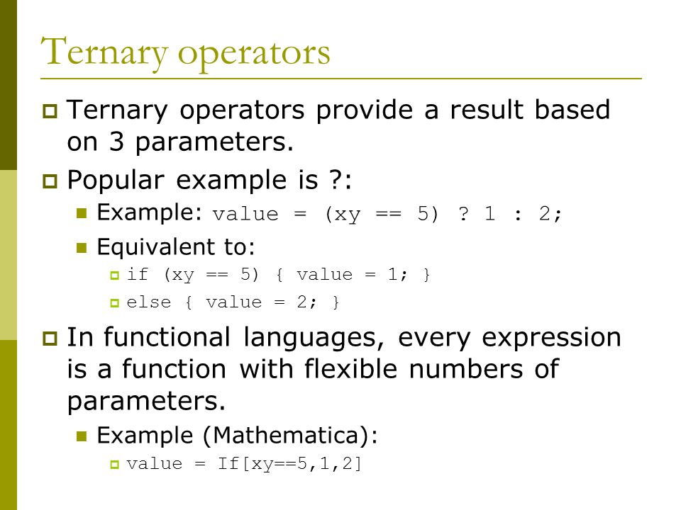 Comparative Programming Languages - ppt video online download