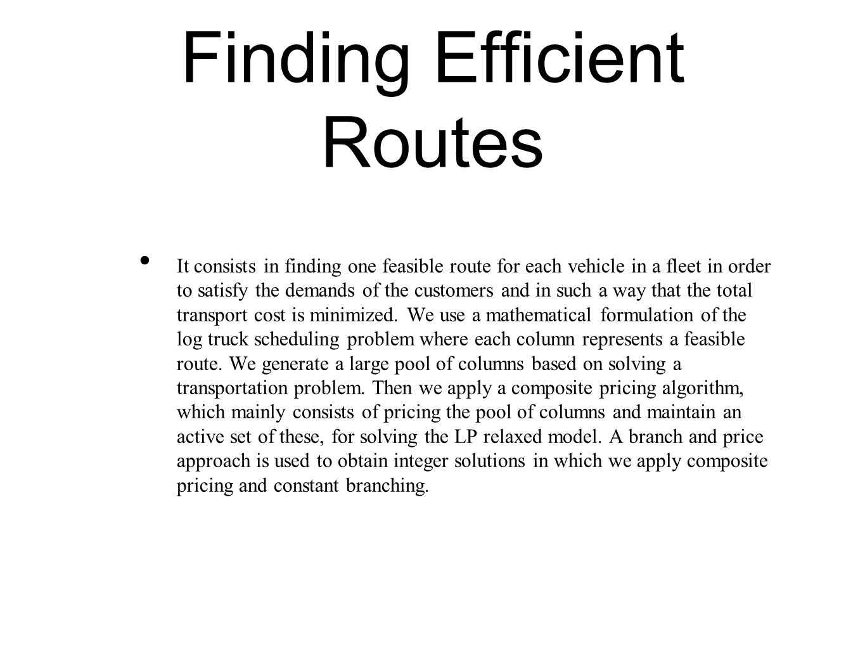 Log Truck Scheduling Problem - ppt download