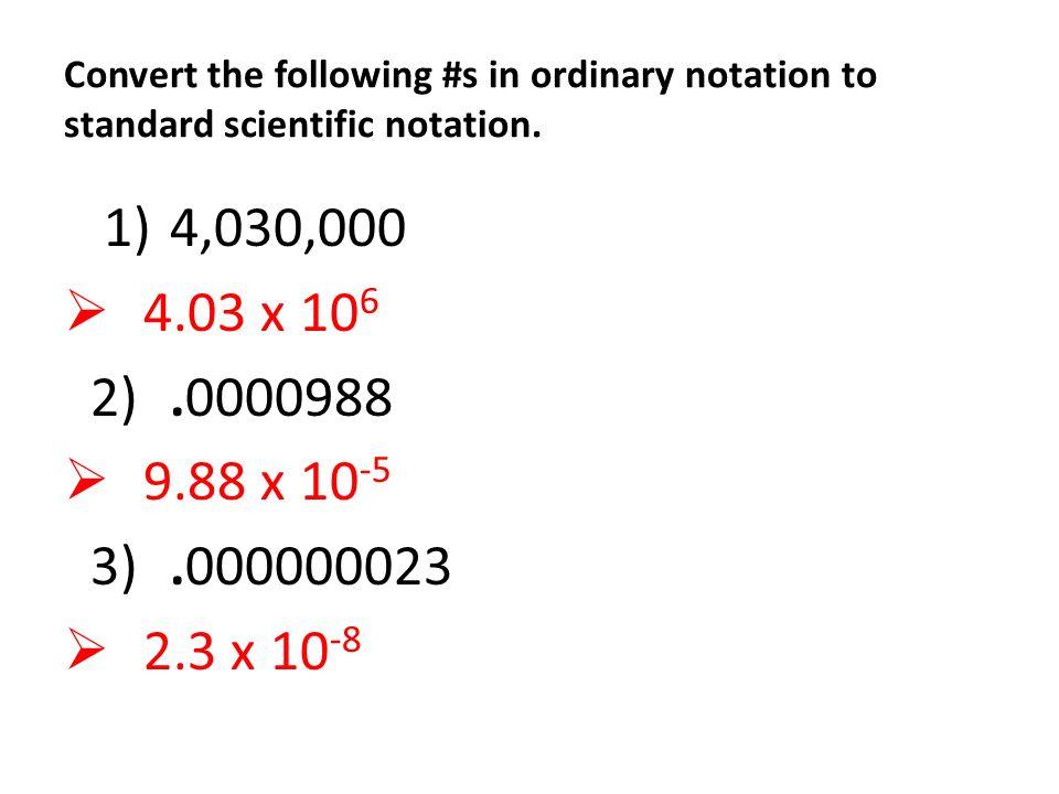 Scientific Notation Practice Problems 3 Ppt Video Online Download
