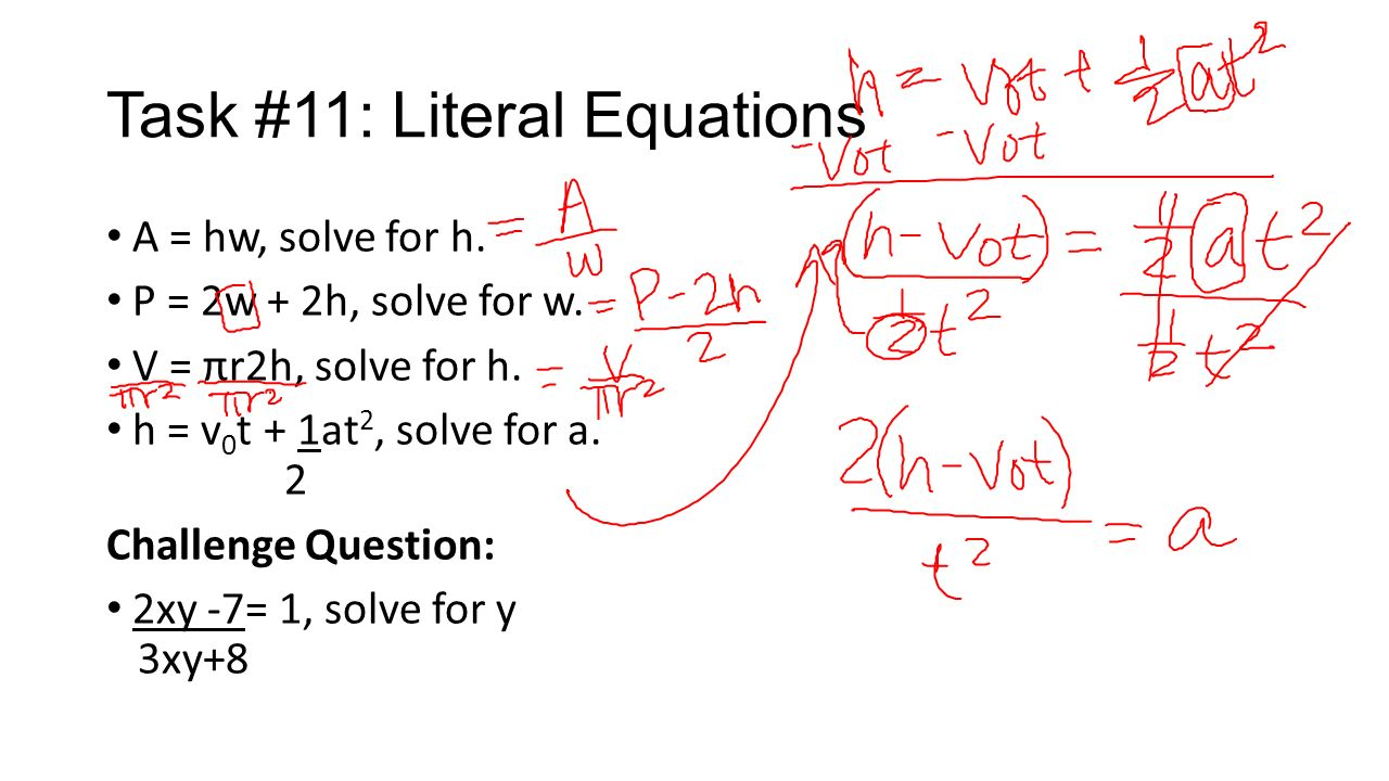 how does a constant in an equation effect the solution? - ppt download