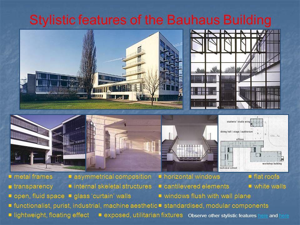 Bauhaus Architecture Elements Bauhaus Biography Architecture Art