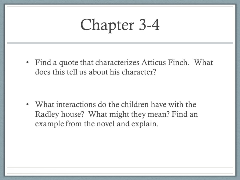 chapter 3 quotes to kill a mockingbird