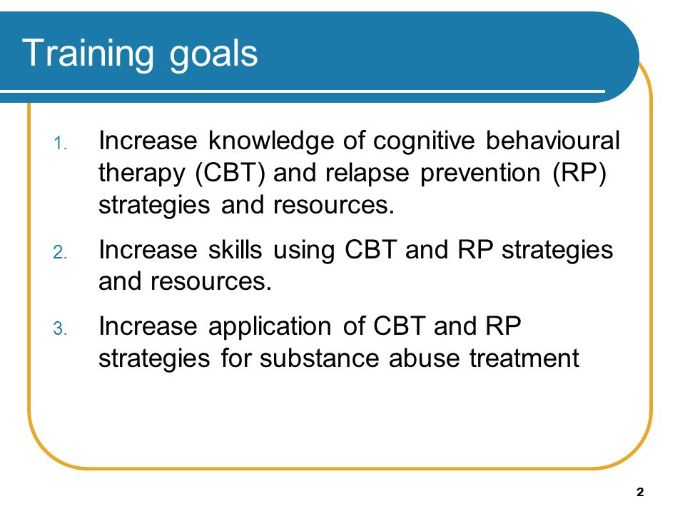 Leaders Guide Cognitive Behavioural Relapse Prevention Strategies