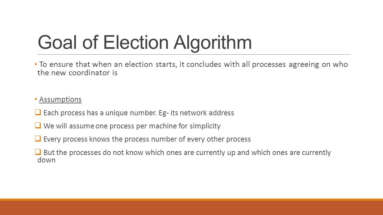 6. 5 election algorithms -avinash madineni. Ppt video online download.