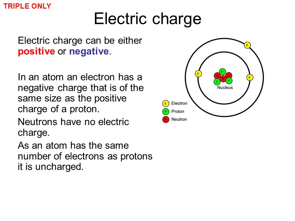 4 electric charge