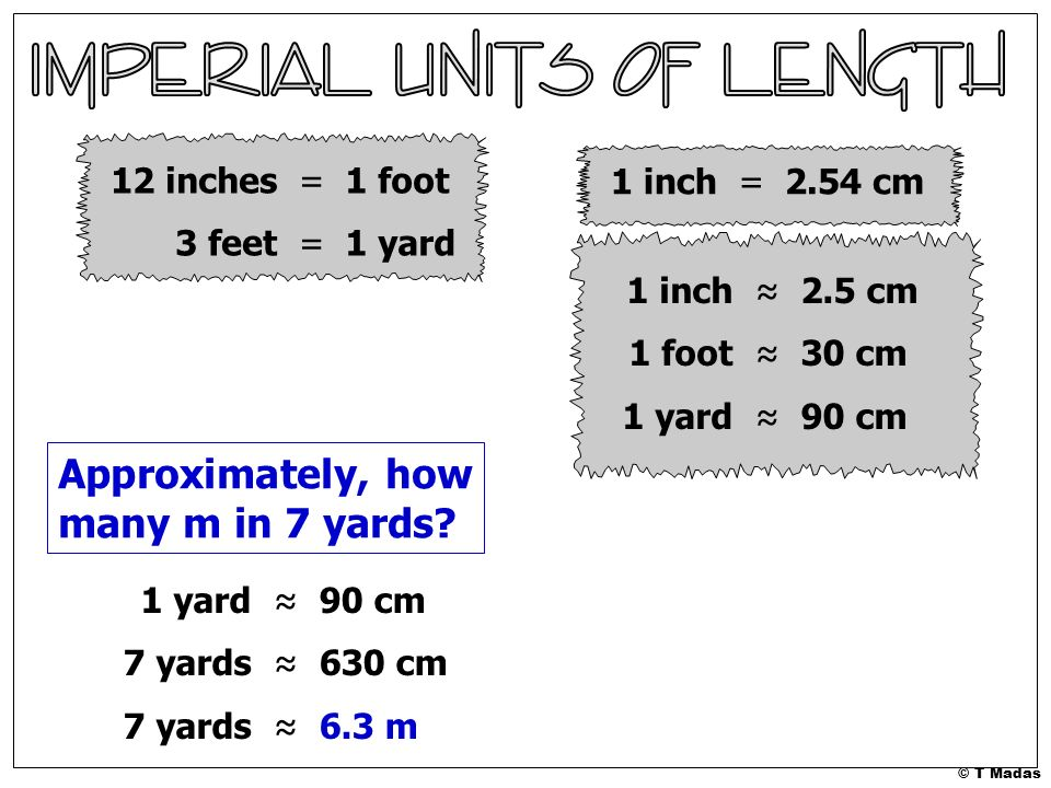 Approximately How Many M In 7 Yards