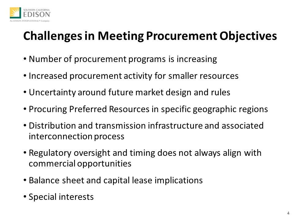 Utility Procurement: What's Next? IEP 2015 Annual Conference