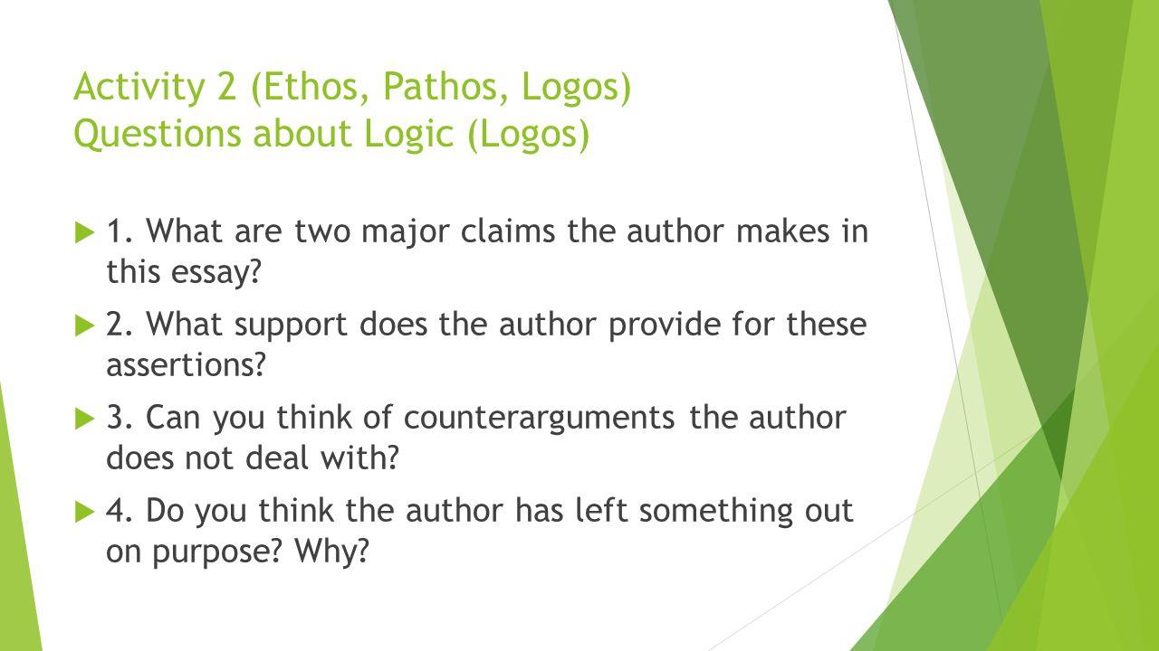 Ethos pathos logos advertisement essay | Coursework Service