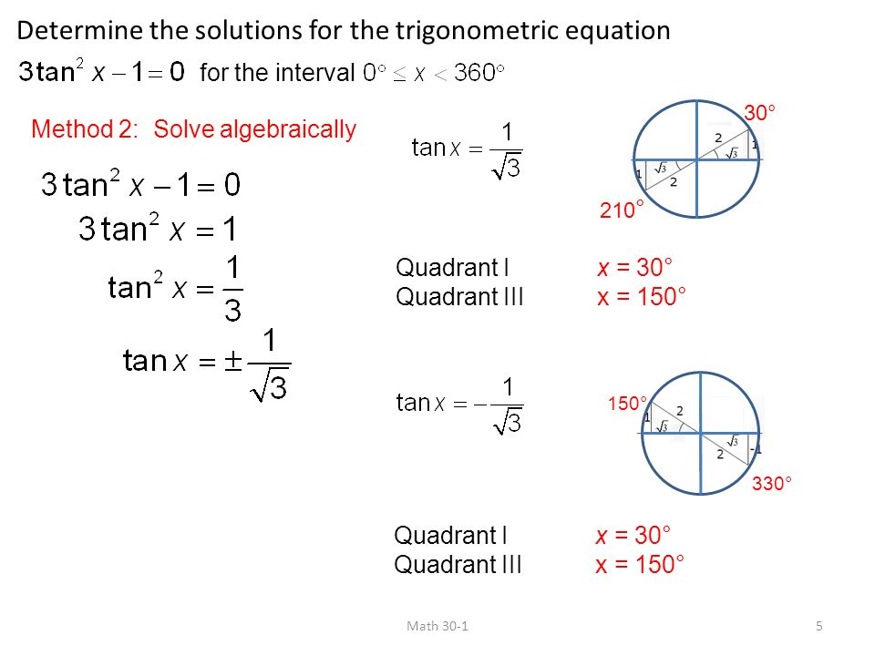 5.4 Equations and Graphs of Trigonometric Functions - ppt video ...
