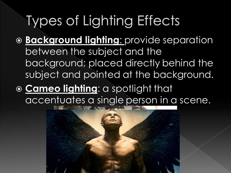 Lighting In Film Ppt